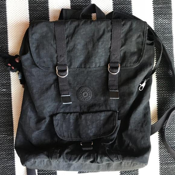 6db9730bce2d Kipling Handbags - Kipling experience black backpack